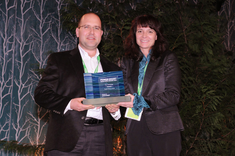 2010 - Taseko Mines Limited BC Hydro Power Smart Excellence Awards, New Technology