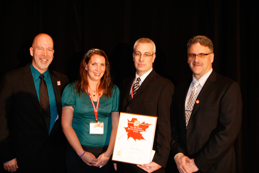 2011 - Keith Merriam Canadian Mineral Processors,  Bill Moore Special Achievement Award