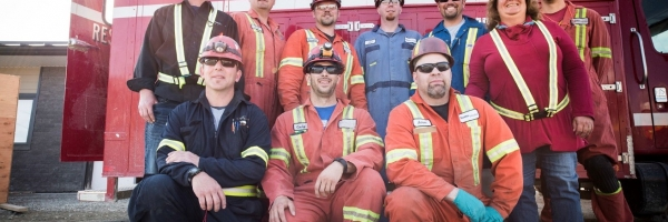 Employees at Gibraltar Mines Ltd. focused on performance and safety during the 2017 wildfires.