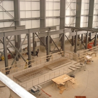 GDP3, Aug 2012 - Structural Steel to Support the Rougher Flotation Cells