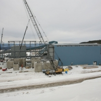 GDP3 - March 2012 - Concentrator Grinding Area Steel Erection
